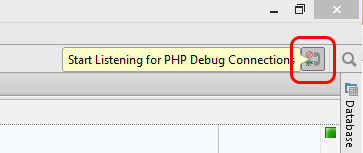 Enabling Listing to Xdebug Connections