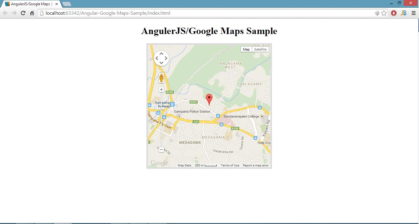 finished angular app