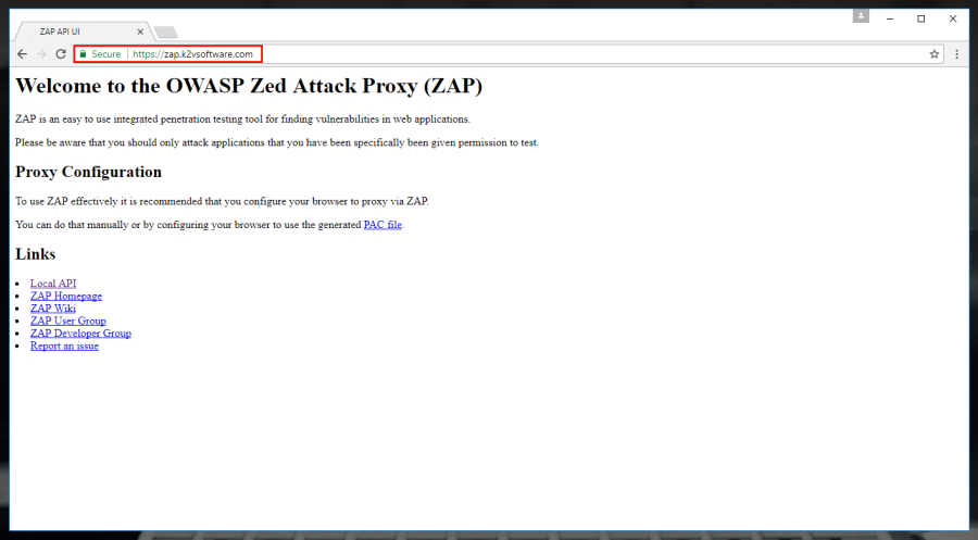 Automated Security Testing with OWASP Zed Attack Proxy: #1